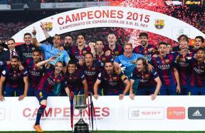 تتويج برشلونة بكأس ملك أسبانيا
