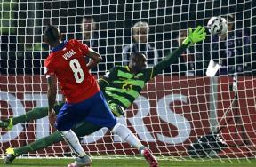 مباراة تشيلي والإكوادور