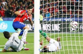 مباراة تشيلي وبوليفيا