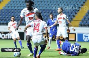 مباراة سموحة والمغرب التطواني