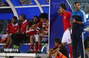 عمرو جمال في لقاء الأهلي والنجم الساحلي