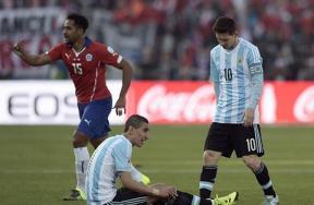 لقاء تشيلي والارجنتين