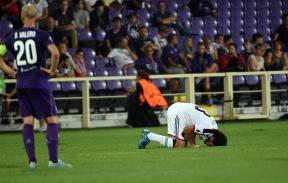 مشاركة النني في مباراة بازل وفيورنتينا