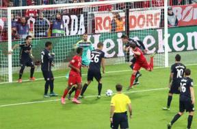 مباراة بايرن ميونيخ ودينامو زغرب