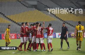مباراة الأهلى والمقاولون العرب