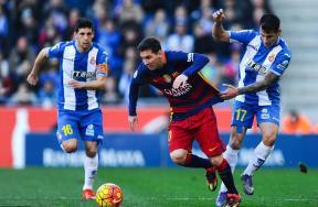 مباراة اسبانيول وبرشلونة