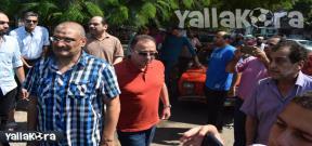 جنازة احمد ماهر مدرب الأهلي السابق