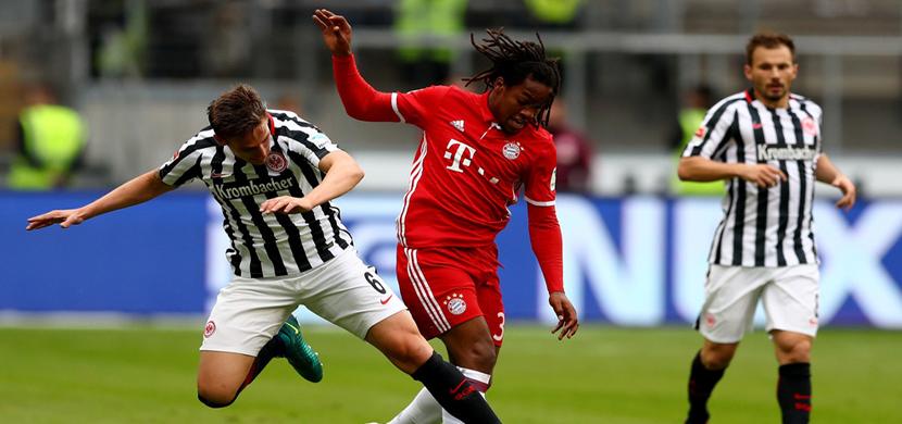 لقطة لريناتو سانشيز فى المباراة