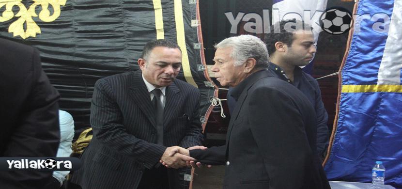 حسن حمدى رئيس الأهلي السابق