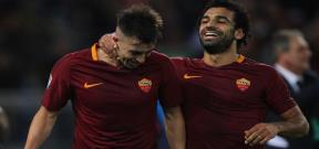مباراة روما وباليرمو