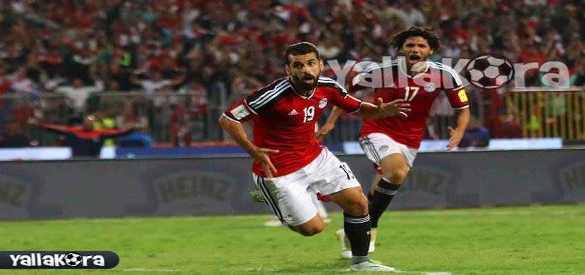 احتفال عبد الله السعيد فى المباراة