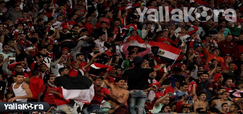 حضور جماهيري كبير فى مباراة مصر وغانا