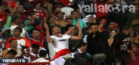 انفعالات الجماهير فى مباراة مصر وغانا