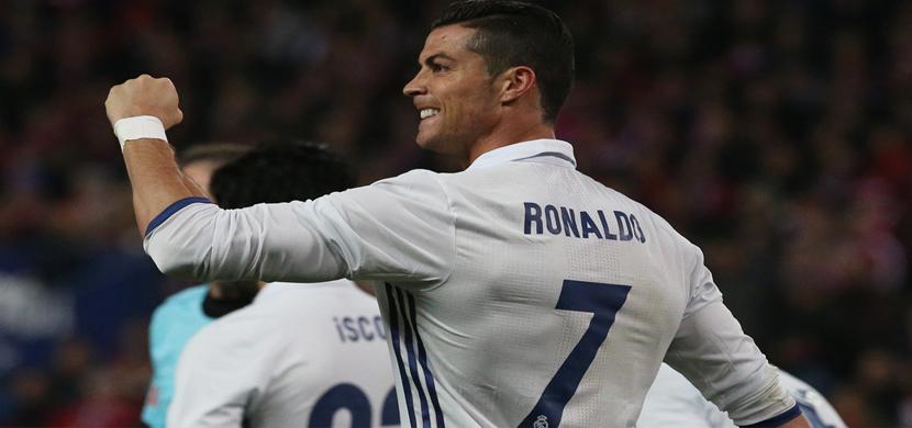 احتفال رونالدو فى المباراة