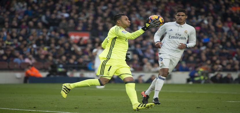 نافاس حارس مرمى ريال مدريد