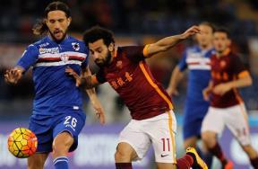 مباراة روما وسامبدوريا