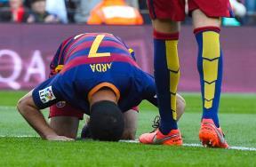 مباراة برشلونة وخيتافى