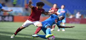 مباراة روما ونابولي