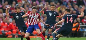 مباراة اتلتيكو مدريد وبايرن ميونيخ
