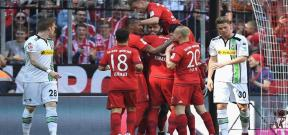 مباراة بايرن ميونيخ ومونشنجلادباخ