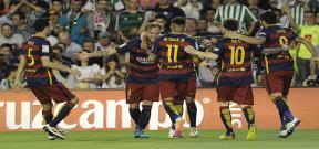 مباراة ريال بيتيس وبرشلونة