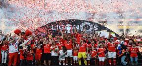 تتويج بنفيكا بطلاً للدوري البرتغالي