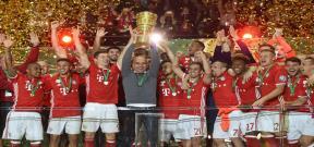 تتويج بايرن ميونيخ بطلاً لكأس المانيا