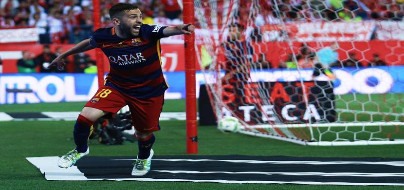 احتفال البا بعد احرازه هدف فى المباراة