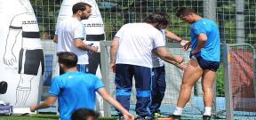 إصابة رونالدو فى تدريبات ريال مدريد
