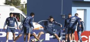 تدريب منتخب الأرجنتين استعداداً لكوبا أمريكا