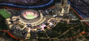 التصميم النهائى لملعب روما الجديد