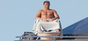 استعداداً لليورو..رونالدو يستجم فى جزيرة ايطالية