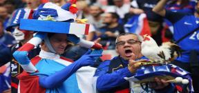 جماهير فرنسا ورومانيا فى افتتاحية يورو 2016