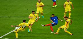 مباراة فرنسا ورومانيا
