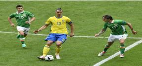 مباراة ايرلندا والسويد