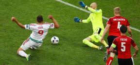 مباراة النمسا والمجر