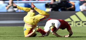 مباراة رومانيا وسويسرا