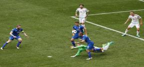 مباراة ايسلندا والمجر