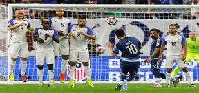 مباراة امريكا والارجنتين