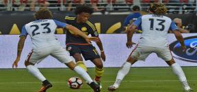 مباراة امريكا وكولومبيا