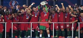 تتويج البرتغال بطلاً ليورو 2016