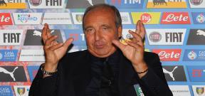 مؤتمر تقديم فينتورا مديراً فنياً لمنتخب ايطاليا