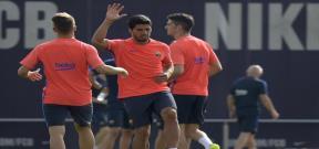 المران الأول لبرشلونة استعداداً للموسم الجديد