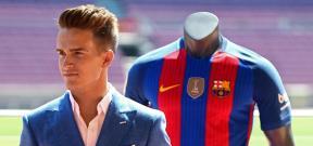 تقديم دينيس سواريز لاعباً فى برشلونة