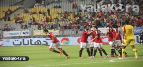 مباراة مصر وغينيا الودية