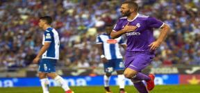 مباراة اسبانيول وريال مدريد