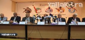 المؤتمر الصحفي للجنة الأولمبية المصرية