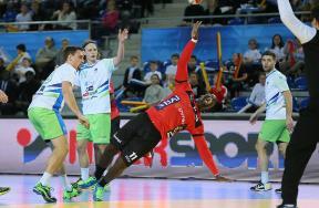 مباراة سلوفينيا وانجولا في مونديال اليد