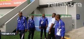 منتخب أوغندا يعاين ملعب مباراته أمام غانا
