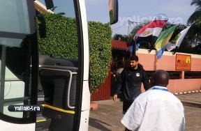 كواليس مران مصر قبل لقاء اوغندا